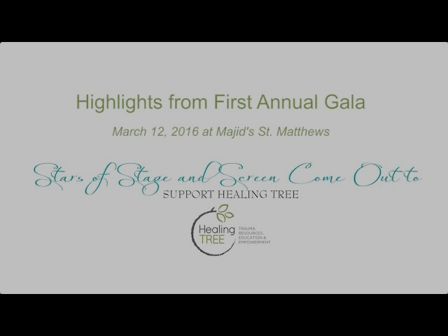 Highlights from Healing TREE's First Annual Gala
