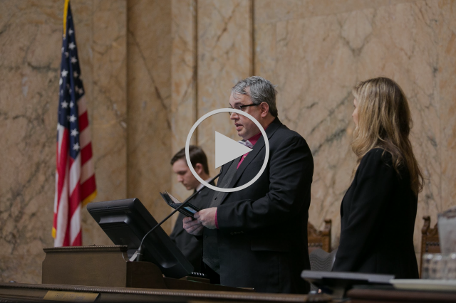 Humanist Invocation at the Washington State House of Representatives