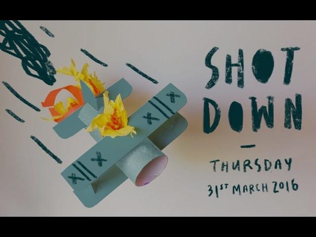SHOT DOWN  (AGDA WA)