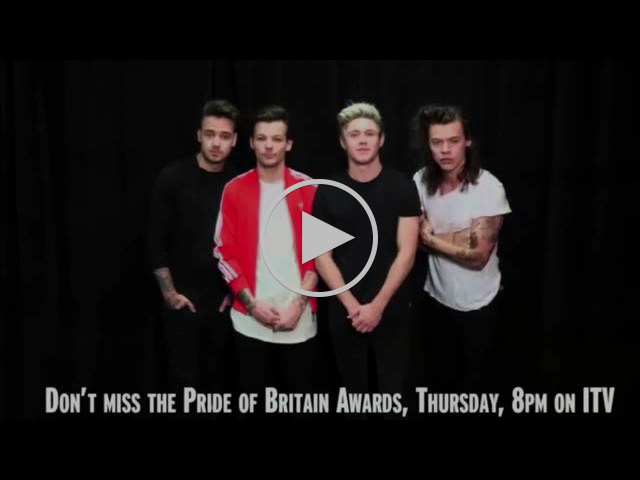 One Direction's amazing Pride of Britain tongue-twister challenge