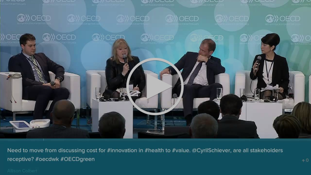 OECD Forum 2015 – The Internet of Self: Health and Innovation