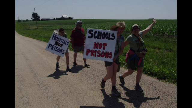 150 mile walk for De-incarceration: Chicago to Thomson