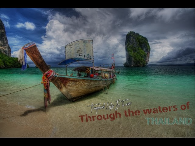 Through the waters of Thailand (4K)