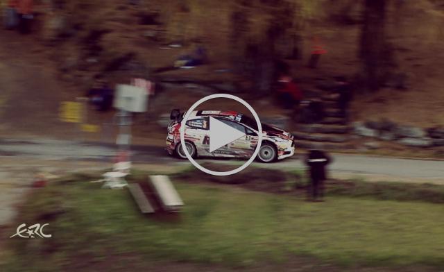 Rallye International du Valais 2015 - Lukyanuk on SS10
