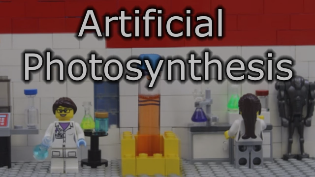 Reisner Lab - Artificial Photosynthesis (in LEGO)