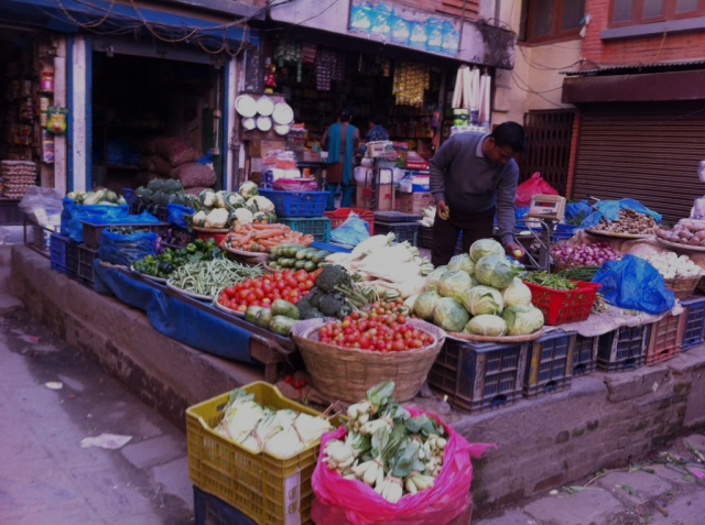 Dispatches from the Livable Cities Program, 6: Local Public Markets in Kathmandu