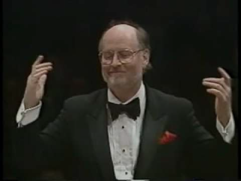John Williams Conducts The Main Theme From Star Wars