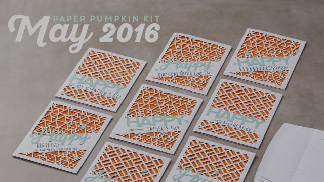 Paper Pumpkin May 2016