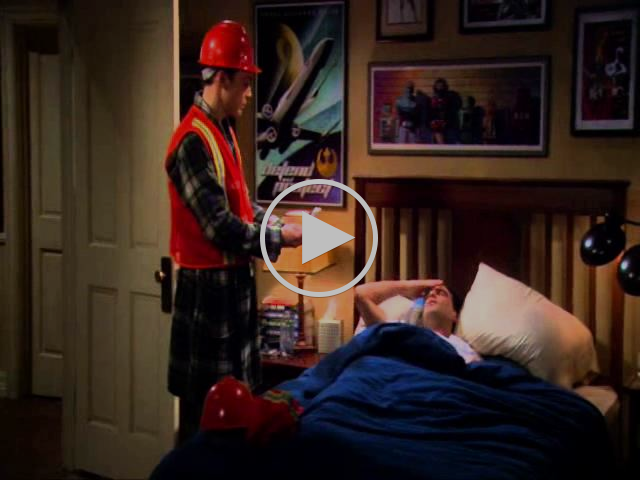 Sheldon Cooper - Emergency Preparedness Drill
