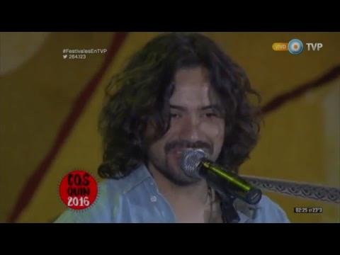 José Luis Aguirre en el Festival de Cosquín 2016