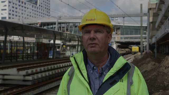 Werkzaamheden rond Utrecht Centraal mei 2016
