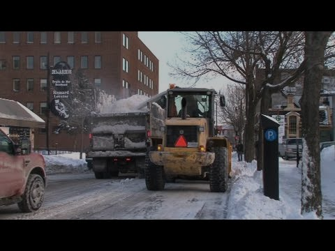 Québec : la betterave permet de le déneigement