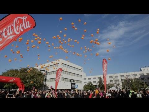 Llançament de globus a la Cursa solidària de la UAB 2015
