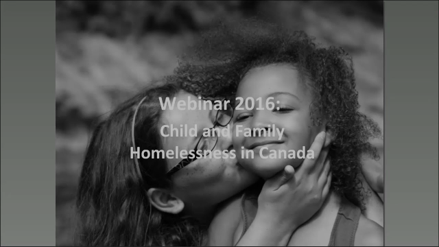 WEBINAR: Child & Family Homelessness in Canada