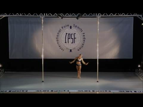 RAFAELA MONTANARO - SENIOR WOMEN - FINAL - WORLD POLE SPORTS CHAMPIONSHIPS 2016