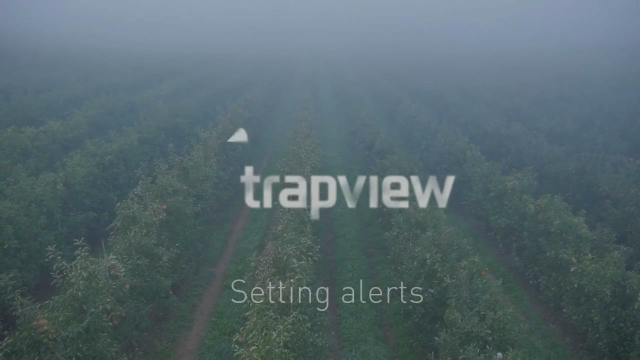 Trapview Alerts