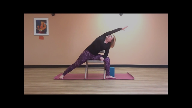 Pull Up A Chair for Balance and Flexibility 2