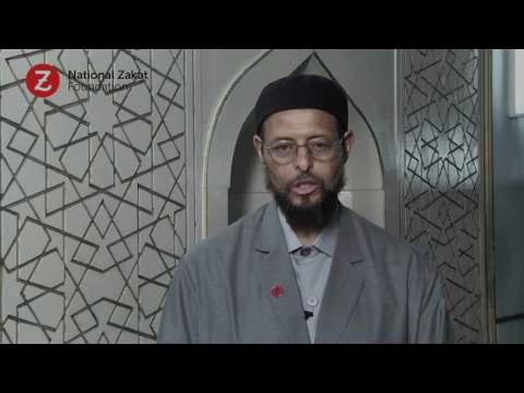 Zakat Begins At Home: Shaykh Zaid Shakir