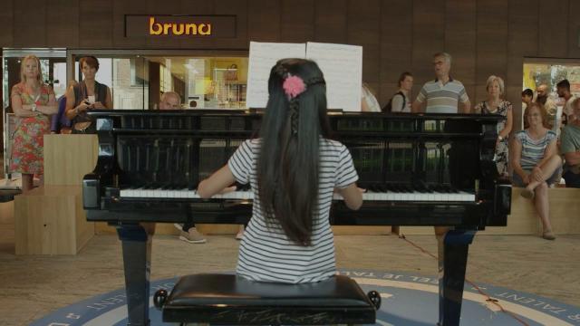 Pianoaudities  voor opening Station Breda op 8 september 2016!