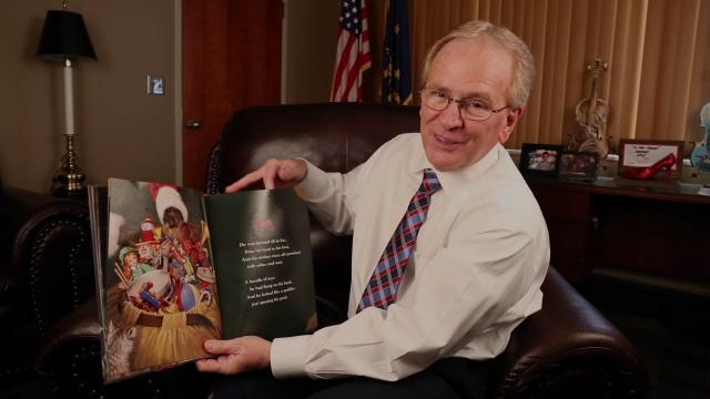 Mayor Tyler Reads The Night Before Christmas