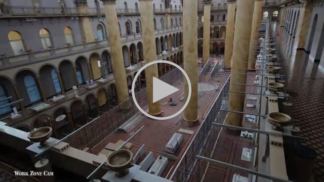 National Building Museum: The BEACH Time-Lapse