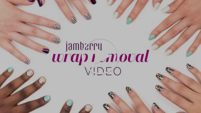 Jamberry Official Wrap Removal Video
