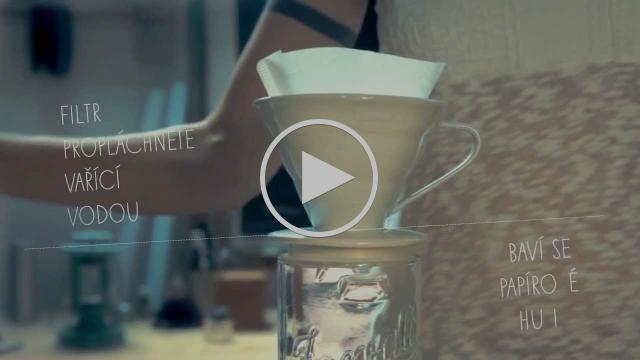 Příprava kávy v dripu / How to make drip coffee CZ