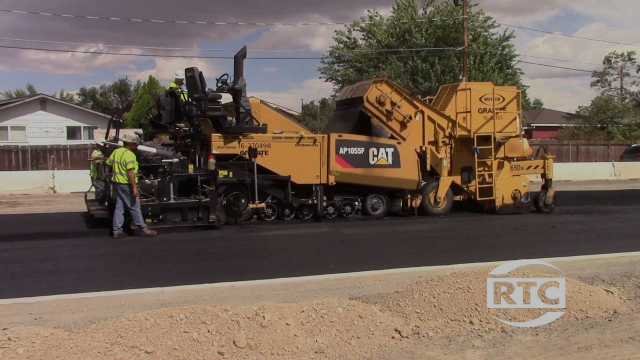 Pyramid McCarran Paving Operations Begin