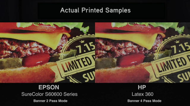 SureColor S60600 vs HP Latex 360 - A Productivity Comparison