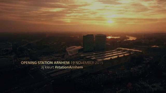 Teaser opening station Arnhem op 19 november