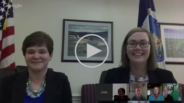 A Google+ Hangout on Helping our Returning Heroes find Opportunities in Agriculture