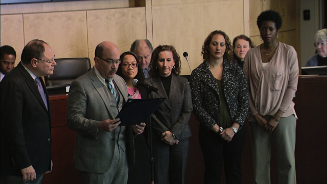 Proclamation Recognizing Child Abuse Prevention Month Presented by Sidney Katz and George Leventhal