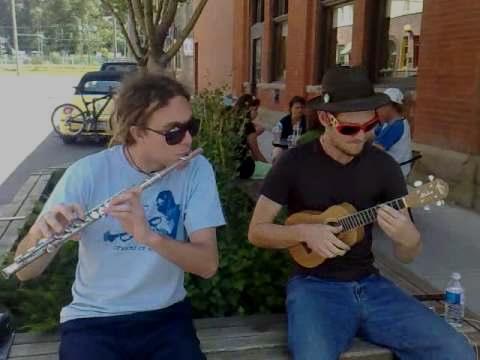 Gypsy Ukulele - Django's Minor Swing on Uke & Flute