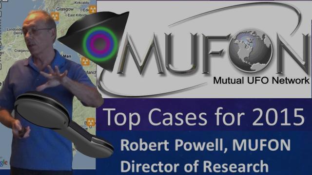Robert Powell: Top UFO Cases for 2015