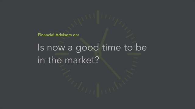 Is Now a Good Time to Be in the Market?