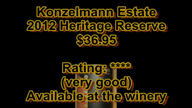 Ontario Wine Review Video #177: Konzelmann 2012 Heritage