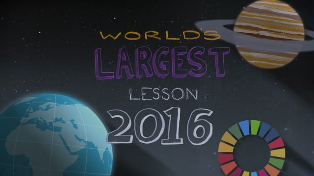 The World's Largest Lesson 2016 - with thanks to Sir Ken Robinson and Emma Watson