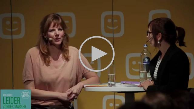 Wouter Torfs, Christel Verschaeren, Martine Tempels en auteur Ann Baeke over Leider zonder Masker