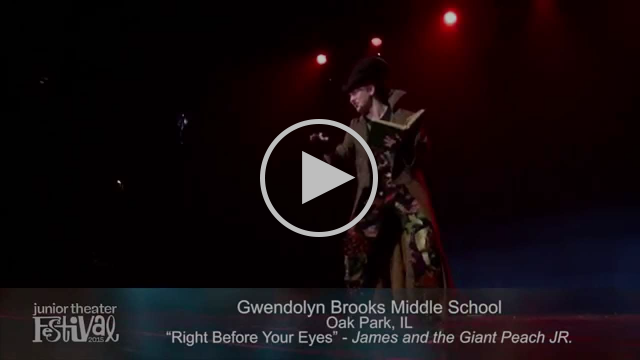 "Performance of ""Right Before Your Eyes"" from Roald Dahl's James and The Giant Peach"