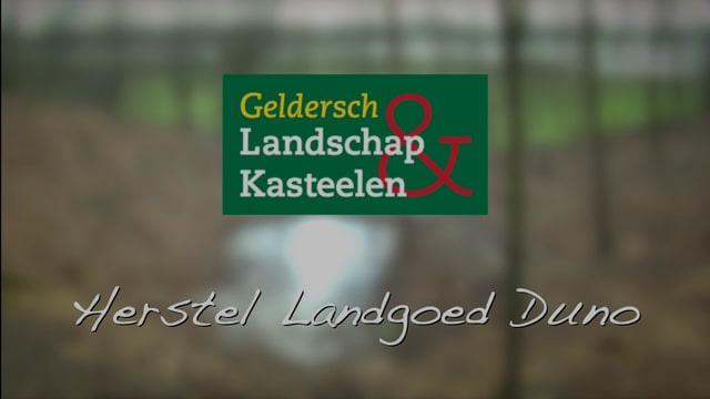 Herstel landgoed Duno in Doorwerth