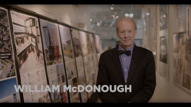 2016 USGBC Leadership Award | William McDonough