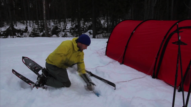 Using Hilleberg tents in the snow.