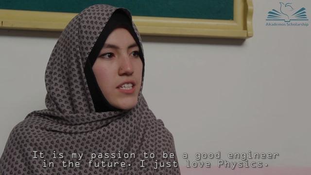 Akademos Scholar Haleema Abdul Khaliq