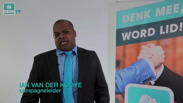 De nieuwe campagneleider van DENK: Ian van der Kooye