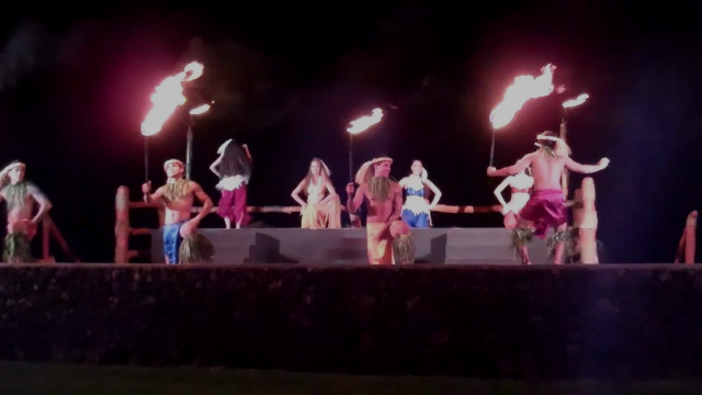 Maui Fire Dancers Hawaii Luau