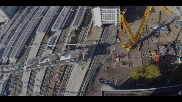 Inhijsen Moreelsebrug bij Utrecht Centraal