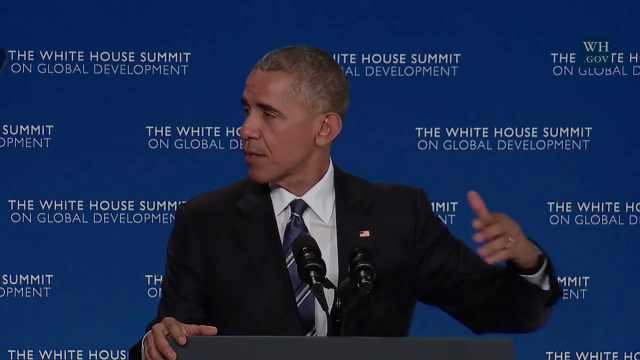 President Obama Delivers Remarks on OGP at the White House Summit on Global Development