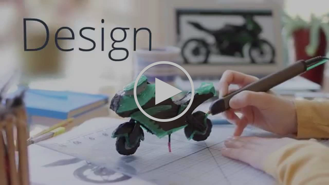 3Doodler 2.0 The World's First 3D Printing Pen, Reinvented