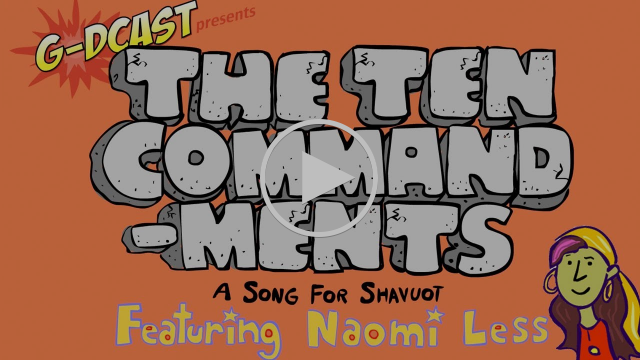 The Ten Commandments - A Song for Kids