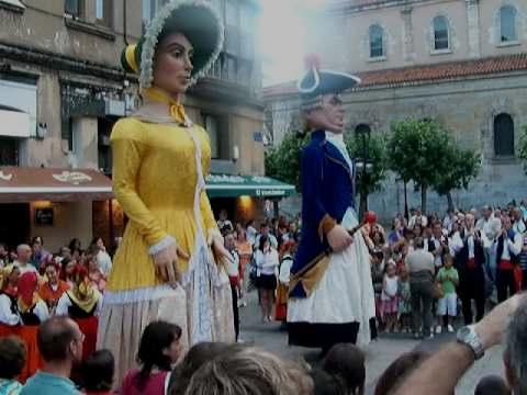 GIGANTILLAS DE SANTANDER. DANZA DE GIGANTILLAS. 2008